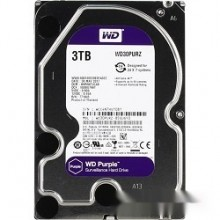 Жесткий диск 3TB WD Purple (WD30PURZ) {Serial ATA III, 5400- rpm, 64Mb, 3.5