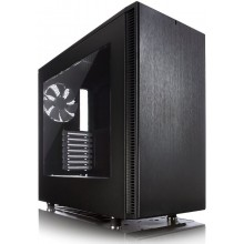 Корпус ATX FRACTAL DESIGN Define S Window, Midi-Tower, без БП,  черный (10) (cl-359235)