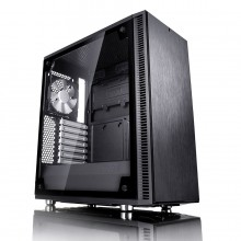 Корпус ATX FRACTAL DESIGN Define C TG, Midi-Tower, без БП,  черный (10) (cl-486262)